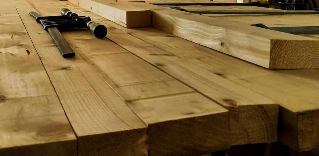 diy-mesa rustica de palets
