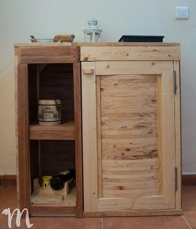 Muebles de palets con los que decorar la cocina for Muebles de cocina con palets