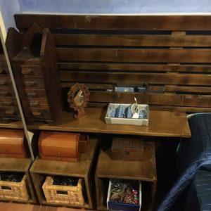 cabecero de madera de palets - berisso