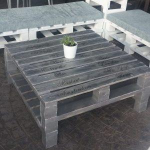 Mesa de centro de estilo industrial - bernal