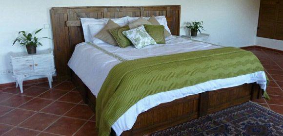 Muebles para dormitorio hechos con palets - Mideco
