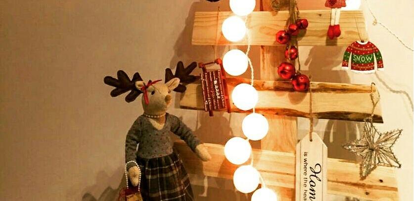 Como hacer un árbol de navidad utilizando madera de palets