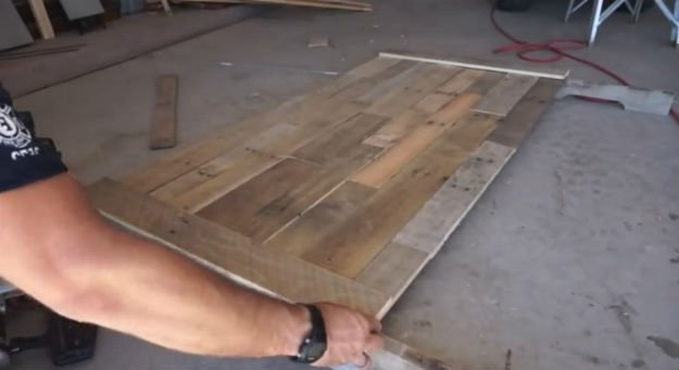 Como hacer un cabecero de madera con palets