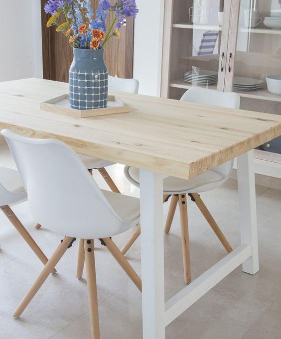 Mesas con Palets perfectas para comedor