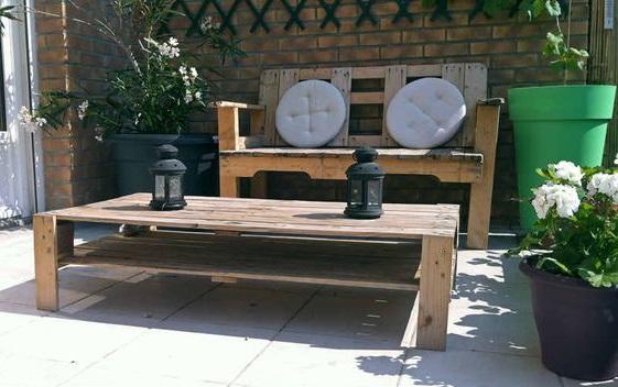 mesas de centro ideales para terrazas