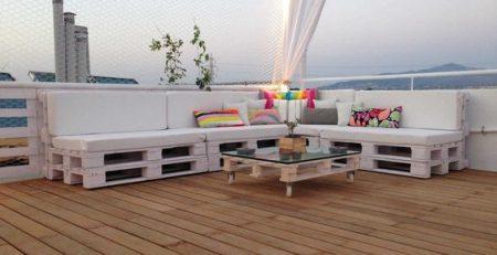 Tienda online de muebles con palets
