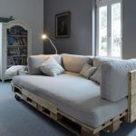sofa de palets chill out