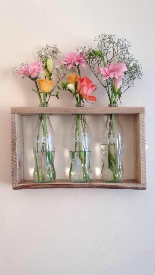 estanteria de palets rectangular para plantas