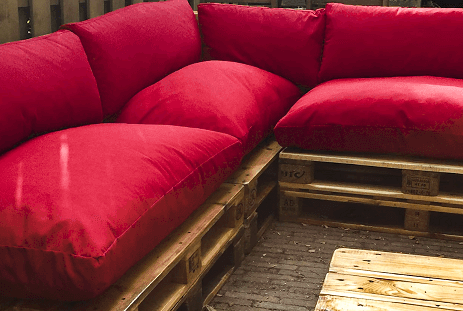 Cómo hacer un sofá de palet paso a paso