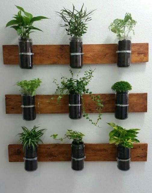 3 ideas animarte a que tengas tu propia jardinera hecha con madera de palets