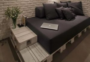 sofa cama de palets