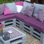 sofa de palets para exterior