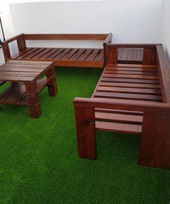 sofa de palets premium