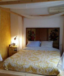 cama de palets balinesa