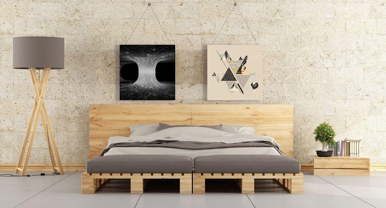 cama de palets mideco tienda online malaga