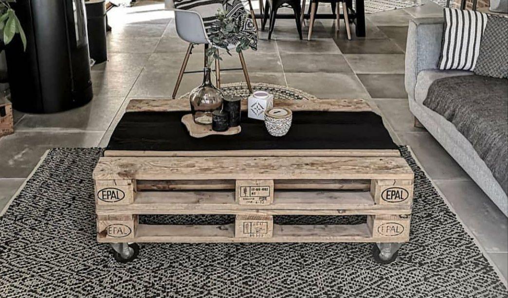 hacer una mesa con palets