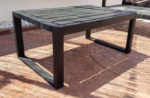mesa rustica palets