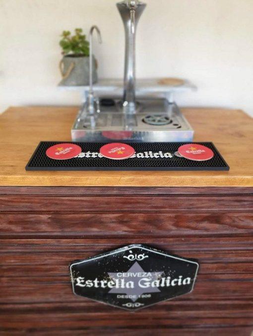 barra de bar rustica