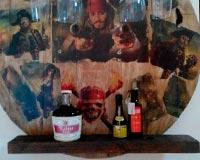 botelleros rusticos