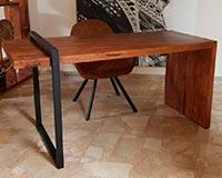 escritorios con palets a medida